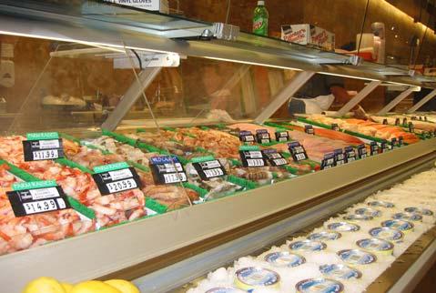Refrigerated Seafood Merchandiser 912 Wescho